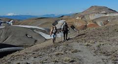 Entrada al Cordón El Caulle (Mono Andes) Tags: chile trekking pablo backpacking andes geyser tente volcán parquenacional chilecentral parquenacionalpuyehue regióndelosríos elcaulle