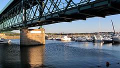 A Ponte Eiffel em Viana do Castelo- Portugal (Cida Garcia) Tags: portugal arquitectura ponte norte vianadocastelo ferro minho eifell construo engenharia ponteeifell