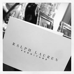 ภาระกิจที่ 3 สำหรับครอบครัวชิคห้ามพลาดกับดิสเพลย์ใหม่จากRalph Lauren Homeรับปี2014ที่ ชิค/คาซ่าครับ
