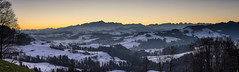 Good Morning Switzerland (PhiiiiiiiL) Tags: morning schnee winter panorama mountain snow berg sunrise landscape schweiz switzerland nikon suisse ostschweiz berge stgallen landschaft sonnenaufgang sntis alpstein churfirsten toggenburg visipix d800e vision:mountain=0794 vision:sunset=0923 vision:sky=099 vision:outdoor=0984 vision:car=0783 vision:clouds=0985 vision:ocean=0982
