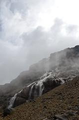 (Diego Echenique) Tags: chile santiago de la los nikon diego paloma cerro andes yerba glaciar loca cordillera farellones echenique d5100