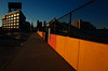 In Queens. Alone. (Giovanni Savino Photography) Tags: street orange wall alone queens magneticart ©giovannisavino