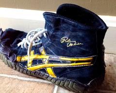 Gold Rulons size 7 (hfbrown125) Tags: shoe wrestling og oe teals rate ringers rulons kolats uploaded:by=flickrmobile colorvibefilter flickriosapp:filter=colorvibe