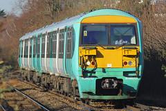 456013 & 465021, Hampton Wick, January 14th 2014 (Southsea_Matt) Tags: southwesttrains hamptonwick southernrail crewtraining class456 456013 456021
