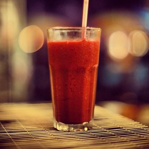 Amora + Tangerina + Gengibre = :D / Raspberry + Tangerine + Ginger = :D