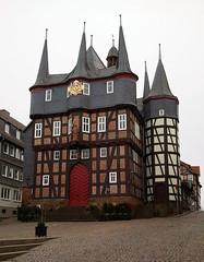 Frankenberg an der Eder -  Rathaus (gern.unterwegs) Tags: hessen rathaus fachwerk eder frankenberg