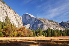 Half Dome, Yosemite (Iyhon Chiu) Tags: california nature unitedstates yosemite halfdome yosemitenationalpark   yosemitevalley       2013   d7000  {vision}:{outdoor}=099 {vision}:{mountain}=0834 {vision}:{clouds}=0956 {vision}:{sky}=0976