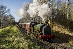 Ribble Winter Steam Gala (DM47744) Tags: uk railroad winter heritage train docks transport rail railway loco trains steam preston british locomotive 1942 preserved railways gala preservation courageous ribble bagnall 2680