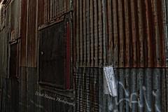 Main St Isleton Calif._010 Topaz (Walt Barnes) Tags: old history canon tin eos rust rusty delta calif historic weathered hdr topaz isleton corrugatedtin 60d canoneos60d topazadjust eos60d wdbones99