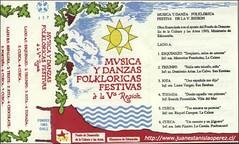 Cassete grabado con el apoyo de Fondart del Ministerio de Educación de Chile en 1993.