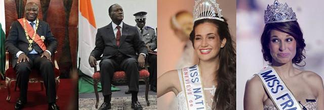 Laurent-Gbagbo-Alassane-Ouattara-Barbara-Morel-Laury-Thilleman