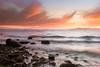 Waves and Particles (Maciej Karcz) Tags: sunset coast nikon san francisco pacific filter lee nd nikkor grad d800 1735