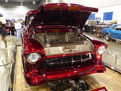 Kustom Chevy pickup (bballchico) Tags: chevrolet truck pickup custom portlandoregon kustom 2014 portlandroadstershow
