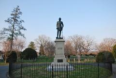 Stonewall Jackson Grave (Bitmapped) Tags: usa virginia unitedstates lexington westvirginia tablerock canaanvalley tuckercounty lexingtoncitycounty stonewalljacksongrave tablerockoverlooktrail