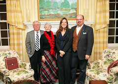 Series director Bill Crawley and wife, Terrie, with Barbara and Brian Jones