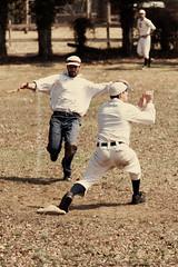 ([ raymond ]) Tags: newyork vertical baseball longisland smithtown vintagebaseball firstbase img8248