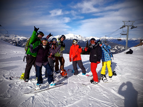 Pro Ride Snowboard Camps, Whistler Canada
