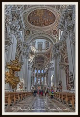 "St. Stephan's Cathedral, or ""Dom St. Stephan"", Passau Germany (Michael D Martin) Tags: river european tour grand viking ribbet curises martinvirtualtours grandeuropeantour vikingrivercurises"