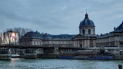 Institut de France and Pont des Arts (Holanda R.) Tags: paris france rio seine lockers river de arts romance des ponte pont artes institut romantica sena cadeados