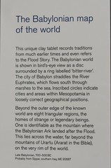 Babylonian map of the world, about 700 - 500 BCE (2) (Prof. Mortel) Tags: london britishmuseum mesopotamia babylonia