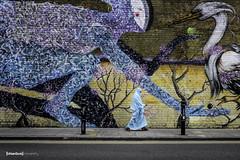 Brick Lane Blues (The Urban Scot) Tags: street urban baby streetart colour london fashion photography graffiti couple fuji jonathan muslim islam style naturallight maternity bricklane burka sherene streetstyle urbanportrait lifestylephotographer urbanscot musicdress fujixt nottinghamphotogrpaher