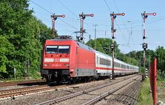 101 004 Meppen 04.06.2015 (hansvogel51) Tags: train germany deutschland ic eisenbahn db br101 meppen adtranz eloks
