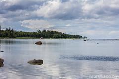 Le lac Baltique.