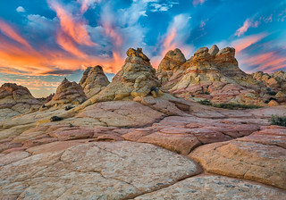 Tepees at Sunrise