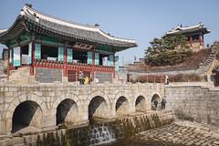 Suwon: The river (gmouret92) Tags: corée du sud south korea suwon fortress forteresse