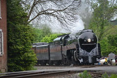 DSC_0283 (Andy961) Tags: delaplane virginia va railway railroad train norfolkwestern nw classj steam locomotive engine 484 611