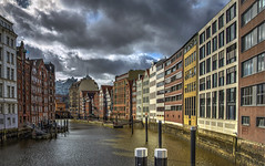 Venice of the North (Fil.ippo) Tags: hamburg amburgo canal cityscape hdr water panorama filippo filippobianchi d610 germany veniceofthenorth buildings house elbphilharmonie