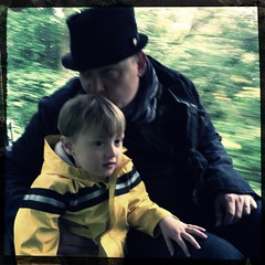 Fletcher of The Day: Train ride (Maarten and Lori Lens-FitzGerald) Tags: mobile iphone