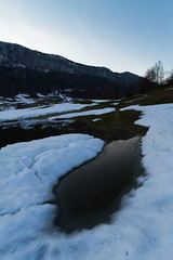 Breakthrough (Nicolas Gailland) Tags: winter sky mountain snow france cold ice nature grenoble canon season landscape spring chartreuse savoie dsert isere cater isre entremont