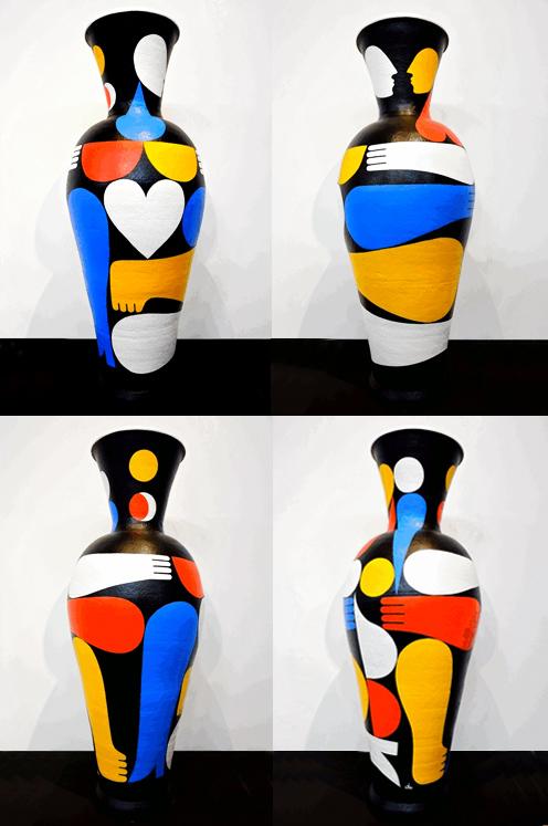 SOL Y LUNA. Ceramic volume
