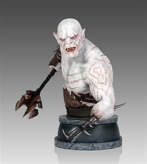 「魔戒」半獸人首領阿索格半身像傑作推薦