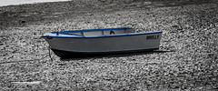 Stuck in the mud (ReggieinHD) Tags: canon bay boat is tide low sigma os 7d usm 70300mm stranded dinghy hsm 1770mm