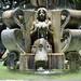 Fontana nel parque central