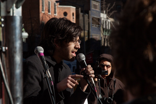 aaron swartz at sopa/pipa demo