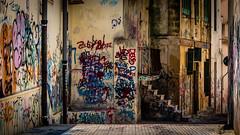 Muri a colori (isabella colucci) Tags: color graffiti colore case puglia muri brindisi