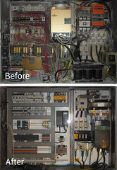A complete panel retrofit