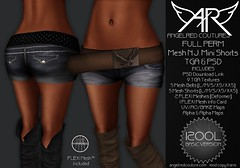 !!NEW!! AngelRED - FULL PERM Mesh N.J. Mini Shorts & Belt (AngelRED Couture) Tags: world life school game max anime industry girl fashion digital design 3d clothing lab maya mesh heather avatar autodesk linden skirt sl gaming secondlife virtual rig kawaii second blender tripp deviantart blazer couture lexi marvelous crawford rigging 3ds rigged mmorpg mmo pleated hiner zelin angelred bloodapplekiss