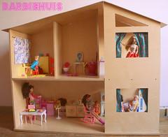 Housewarmingparty! (Justina Maria Louisa) Tags: diy plywood multiplex barbiehouse barbiehuis