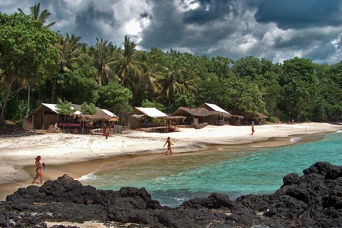 Indonesia - Bali - Padangbai - White Sand Beach - 3