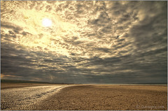 222/365 - Sunlight on Sand (Steviepix) Tags: sea summer england sky beach water landscape photo norfolk august holkham 2013 365project steviepix