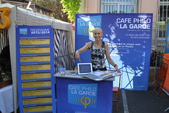 Le Café Philo au Forum des Associations 2013