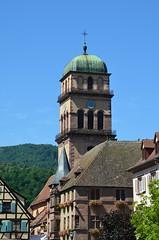 Eglise Sainte-Croix (BrigitteChanson) Tags: church iglesia chiesa alsace eglise saintecroix hautrhin kaysersberg