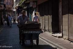 junk man (delikizinyeri) Tags: street man turkey junk working istanbul cart balat