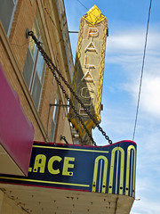 Palace Theatre, Malta, MT (Robby Virus) Tags: house cinema building sign marquee montana theater neon theatre malta palace move movies