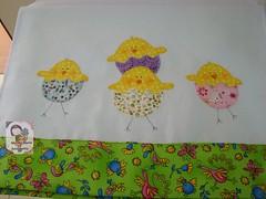 PinTinhOs AlEgRes...pano de copa (Ma Ma Marie Artcountry) Tags: chicken kitchen chicks pintinhos panodeprato panodecopa kitchentower