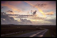 Beaulieu Rd at dusk (Maw*Maw) Tags: road sunset sky white lines tarmac clouds dusk heath beaulieu